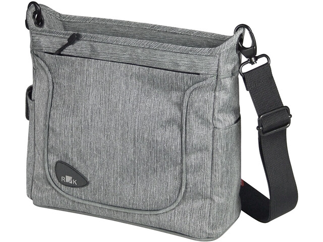 KlickFix Allegra Fashion Handlebar Bag, grey
